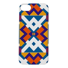 Shapes in rectangles pattern Apple iPhone 5S Hardshell Case