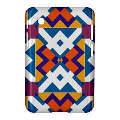 Shapes in rectangles pattern Samsung Galaxy Tab 2 (7 ) P3100 Hardshell Case