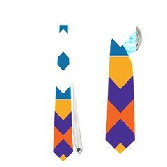 Shapes in rectangles pattern Necktie