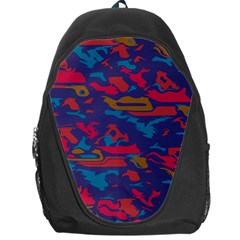 Chaos in retro colors Backpack Bag