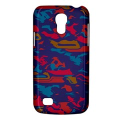 Chaos in retro colors Samsung Galaxy S4 Mini (GT-I9190) Hardshell Case