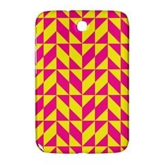 Pink and yellow shapes pattern Samsung Galaxy Note 8.0 N5100 Hardshell Case
