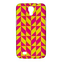 Pink and yellow shapes pattern Samsung Galaxy Mega 6.3  I9200 Hardshell Case