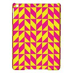 Pink and yellow shapes pattern Apple iPad Air Hardshell Case