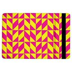Pink and yellow shapes pattern	Apple iPad Air Flip Case