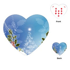 Christmas Tree Playing Cards (Heart)