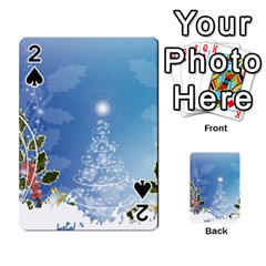 Christmas Tree Playing Cards 54 Designs
