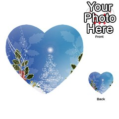 Christmas Tree Multi-purpose Cards (Heart)