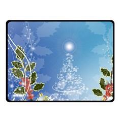 Christmas Tree Fleece Blanket (Small)