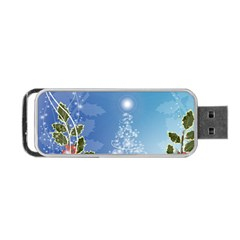 Christmas Tree Portable Usb Flash (two Sides)