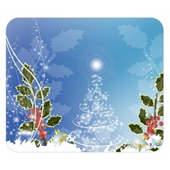 Christmas Tree Double Sided Flano Blanket (small)