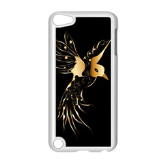 Beautiful Bird In Gold And Black Apple Ipod Touch 5 Case (white)