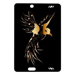 Beautiful Bird In Gold And Black Kindle Fire HD (2013) Hardshell Case