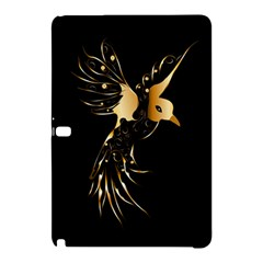 Beautiful Bird In Gold And Black Samsung Galaxy Tab Pro 10.1 Hardshell Case