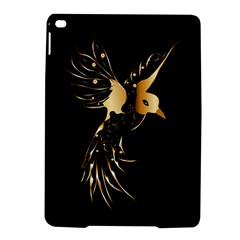 Beautiful Bird In Gold And Black iPad Air 2 Hardshell Cases
