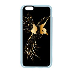 Beautiful Bird In Gold And Black Apple Seamless iPhone 6 Case (Color)
