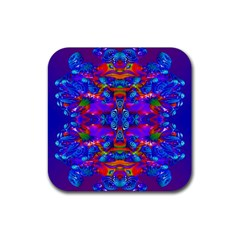 Abstract 4 Rubber Coaster (square)