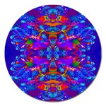 Abstract 4 Magnet 5  (Round) Front