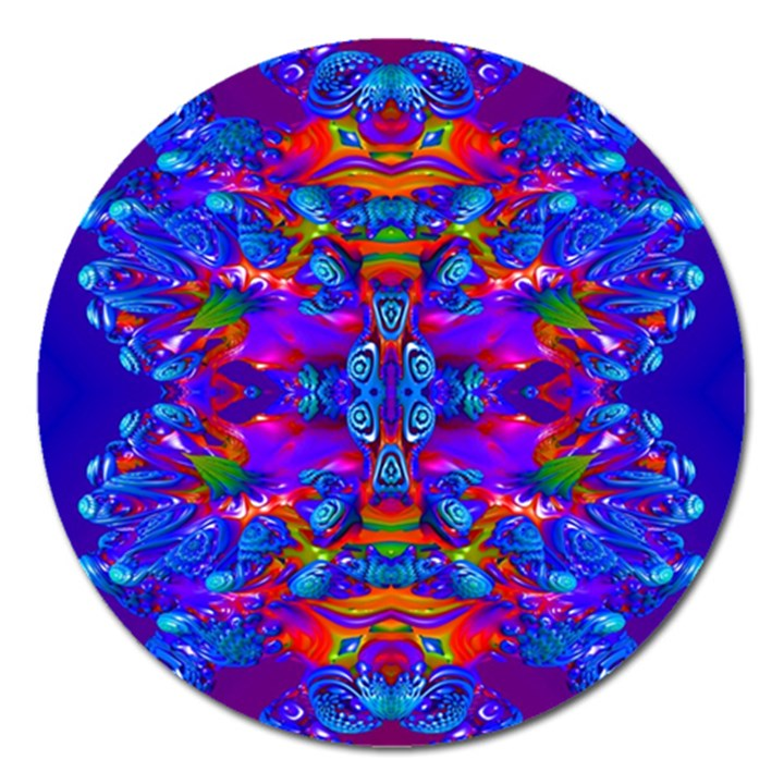 Abstract 4 Magnet 5  (Round)