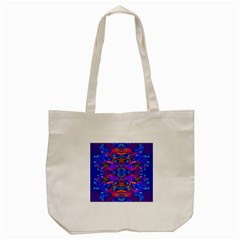 Abstract 4 Tote Bag (Cream)