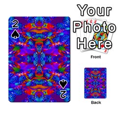 Abstract 4 Playing Cards 54 Designs