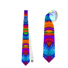 Abstract 4 Neckties (One Side)