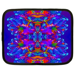 Abstract 4 Netbook Case (large)