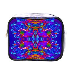 Abstract 4 Mini Toiletries Bags