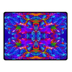 Abstract 4 Fleece Blanket (small)