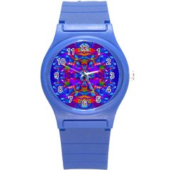 Abstract 4 Round Plastic Sport Watch (s)