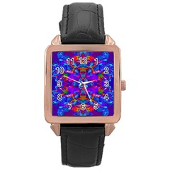 Abstract 4 Rose Gold Watches