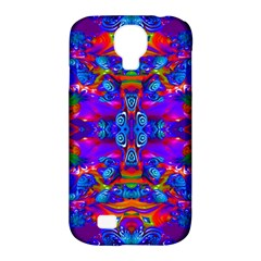Abstract 4 Samsung Galaxy S4 Classic Hardshell Case (PC+Silicone)
