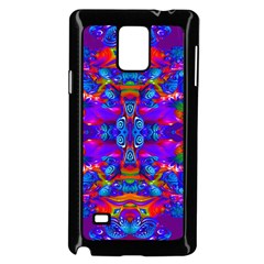 Abstract 4 Samsung Galaxy Note 4 Case (Black)