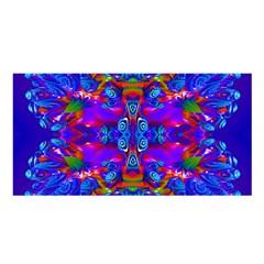 Abstract 4 Satin Shawl