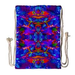 Abstract 4 Drawstring Bag (large)