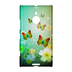 Flowers With Wonderful Butterflies Nokia Lumia 1520