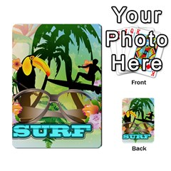Surfing Multi-purpose Cards (Rectangle)