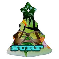 Surfing Ornament (Christmas Tree)