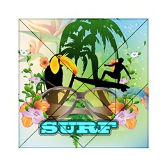 Surfing Acrylic Tangram Puzzle (6  x 6 )