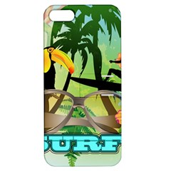 Surfing Apple iPhone 5 Hardshell Case with Stand