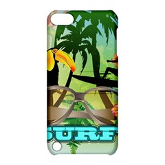 Surfing Apple iPod Touch 5 Hardshell Case with Stand