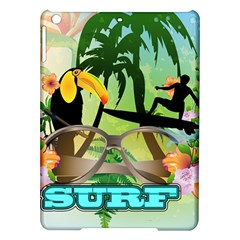 Surfing iPad Air Hardshell Cases