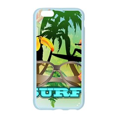 Surfing Apple Seamless iPhone 6 Case (Color)