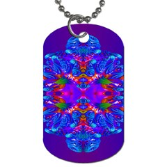 Abstract 5 Dog Tag (one Side)