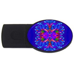 Abstract 5 Usb Flash Drive Oval (2 Gb)