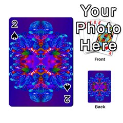 Abstract 5 Playing Cards 54 Designs