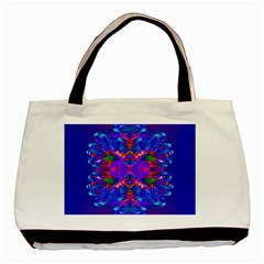 Abstract 5 Basic Tote Bag (Two Sides)