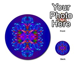 Abstract 5 Multi-purpose Cards (Round)