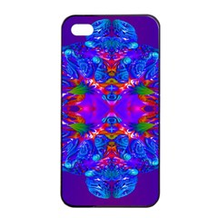 Abstract 5 Apple iPhone 4/4s Seamless Case (Black)