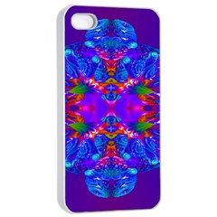 Abstract 5 Apple iPhone 4/4s Seamless Case (White)